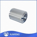 Aluminum Extruded Heatsink Pipe