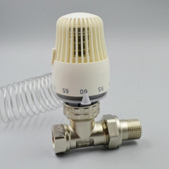 capillary thermostat with copper tube