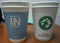 Disposable embossed wall wall paper cup 5