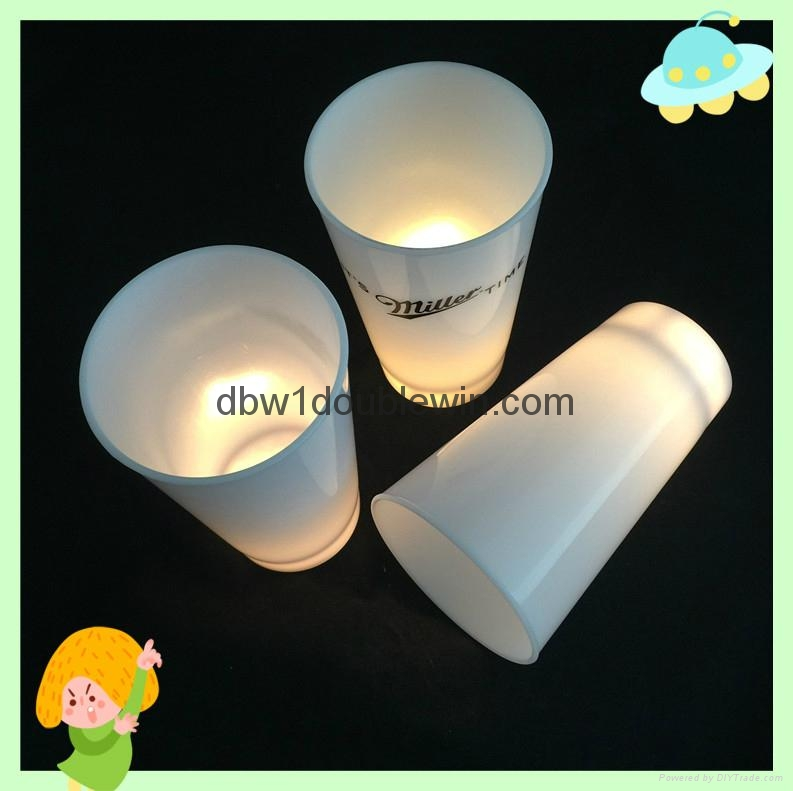 flash cup plastic cup with led light 4