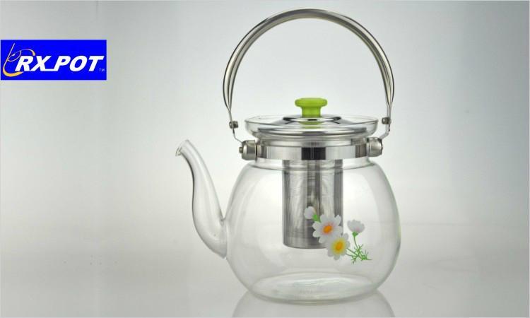 Heatproof glass Teapot and cup set,make tea 1