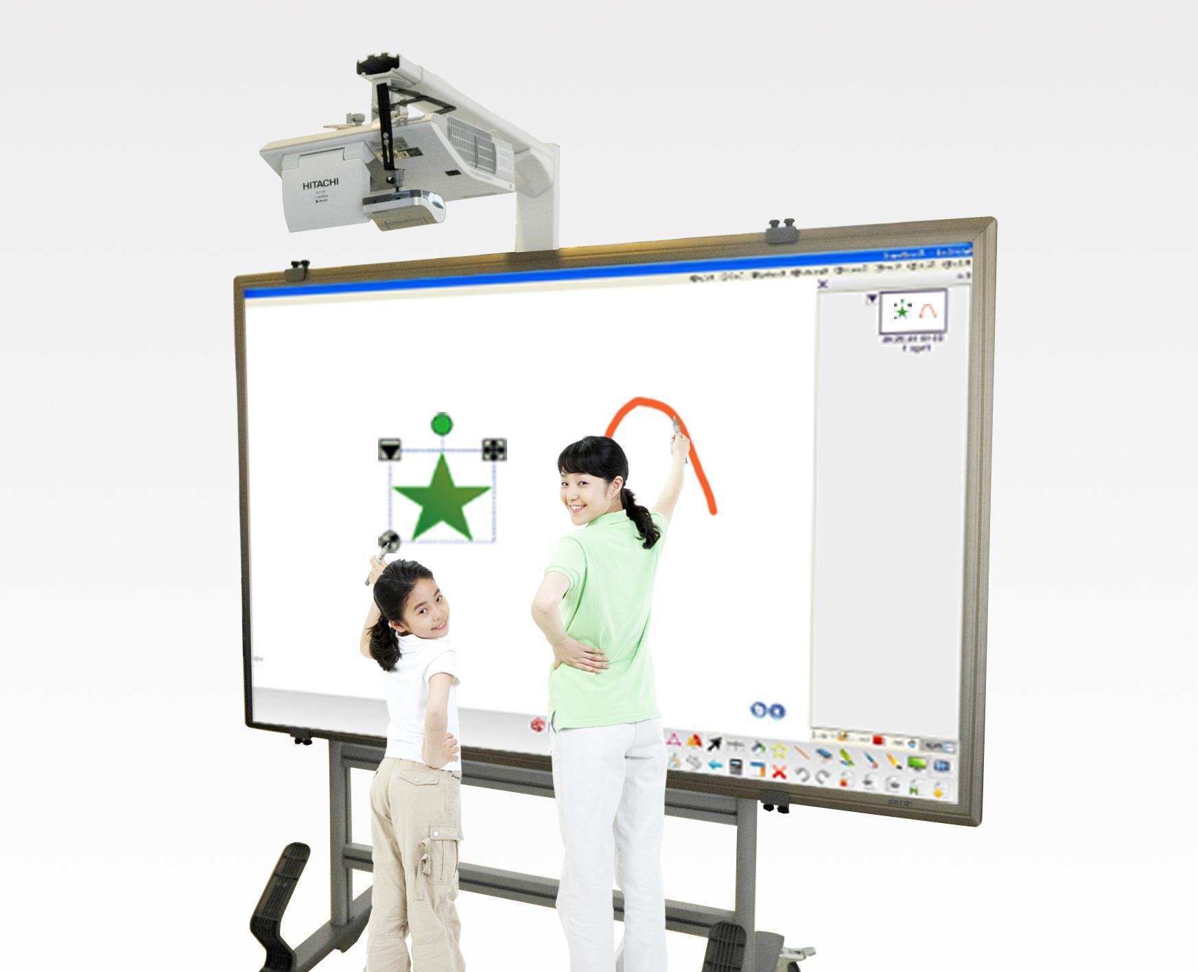 "120 "" Wi Fi Synchronized Smart Interactive Whiteboard 3"