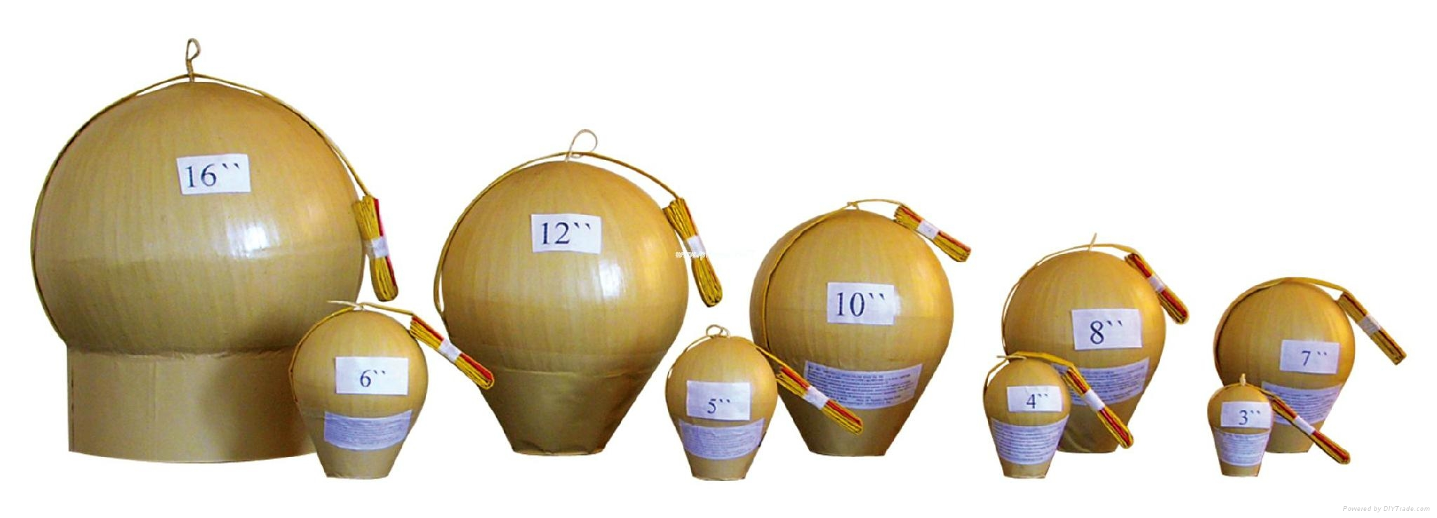 Fireworks Display Shells & Mortars for festivals different sizes 1