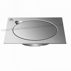 Clean out Floor Drain Strainer Stainless Steel
