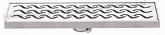 Stainless steel showerLinear Floor Drain Long Strainer