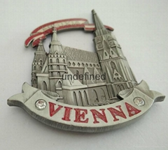 Customized Metal Fridge Magnet for Souvenir Zinc Alloy Fridge Magnet