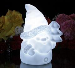 LED Santa Christmas Light gift  Color