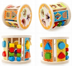 Wooden Intelligent roller - wooden toys