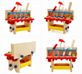 Hand-rattles - wooden toys