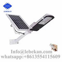 Wholesale price remote control 120w 100w 50w all in one solar street light