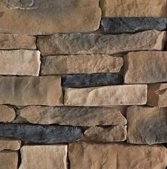 長治文化石背景牆 人造城堡石