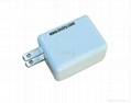 Portable usb mobile phone travel charger