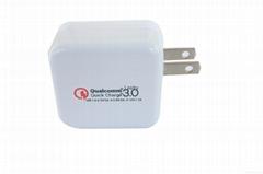折叠式USB  QC3.0充电器