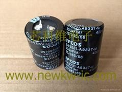 epcos電容器 原裝進口 現貨發售 高清圖B43231-A9337-M