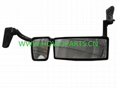 SINOTRUK HOWO SPARE PARTS WG1642770001-3 Rearview mirror