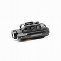 Magnetic switch function laser sight and flashlight combo