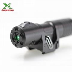 Output power adjustable green laser sight