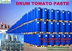 Drum tomato paste
