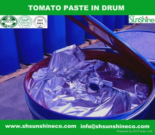 Drum tomato paste 3