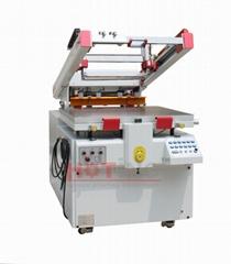 PET heat transfer screen printing machine, transfer paper printer press machine