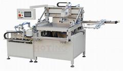 PET sheet automatic screen printing machine, pet film transfer screen printer