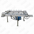 Vibrating screen stretching machine, stainless steel mesh thieve stretcher