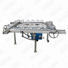 振动筛拉伸机,不锈钢网拉伸机