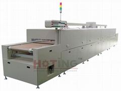 IR conveyor drying machine, screen printing tunnel dryer, IR dryer screen print