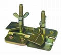 Screen printing hinge clamps, screen clamps, screen frame clamps