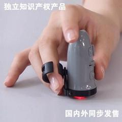 升級版 3D360度可調無線充電手指鼠標 2.4G無線鼠標