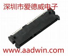 SATA接口连接器母座硬盘接口