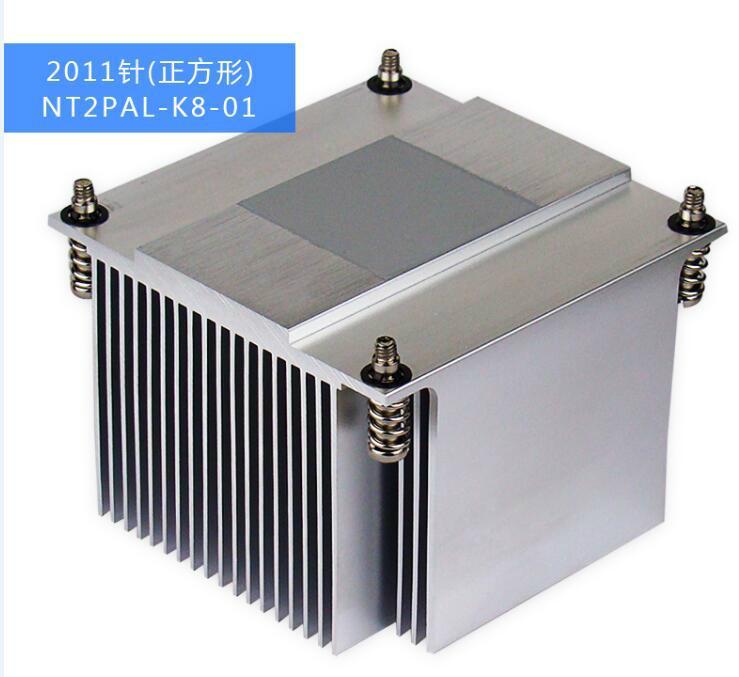Extrusion Square Al  heat sink 1