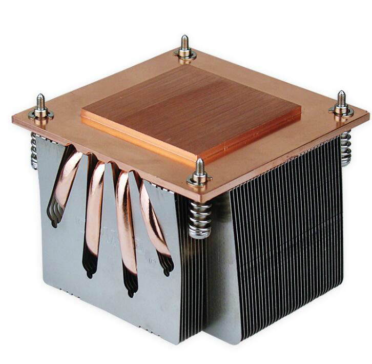 China 2011 Copper soldering  Fin heat sink  1