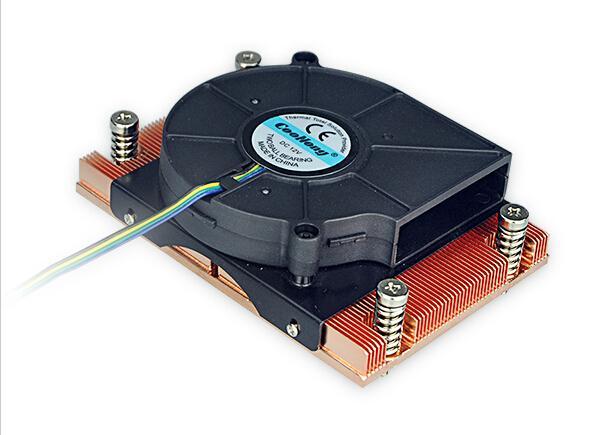 AMD AM2/AM2+/AM3 Skived copper heat sink cooler 1