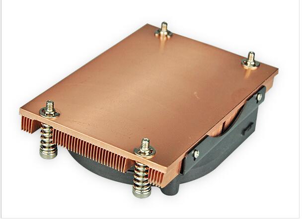 AMD AM2/AM2+/AM3 Skived copper heat sink cooler 2