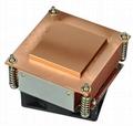 Manufacture Intel 775/776 1.5U copper