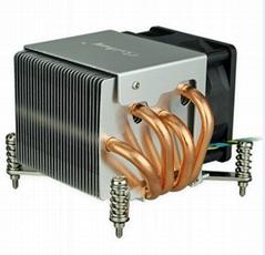 12V intel LGA 1355/1356 Wholesale Al heat pipe heatsink