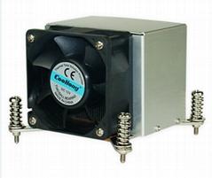 Best seller 1355/1356 PWM CPU cooler heat sink sample