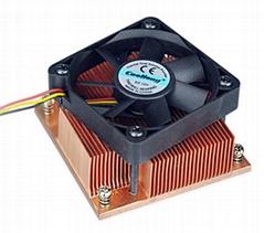 Cooling fan Skiving CNC Copper PM989 heat sink