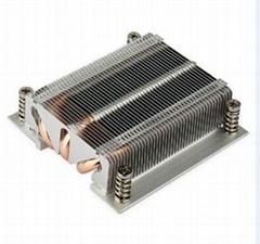 LGA 1150/1151/1156 Bonded fin heat sink/heat pipe