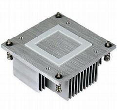 Wholesale Intel CPU PM988/989 skived Al heat sink