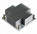 Wholesale Intel CPU PM988/989 skived Al heat sink 2
