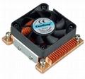 Shenzhen PM478/479 Standard copper 60w heat sink with cooling fan 2