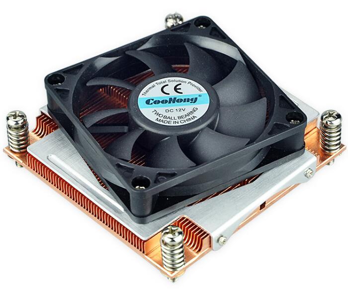 Trading Copper Skived Electronic custom/standard cpu/server LGA 2011  heat sink  1