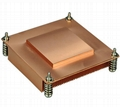 China Intel Socket  LGA1355 1366 1u copper passive VGA CPU heat sink cooling  2