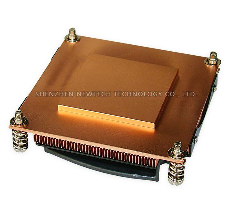 Trading Copper Skived Electronic custom/standard cpu/server LGA 2011  heat sink  2