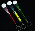 promotional gift LED Projector keychain flashlight torch 1