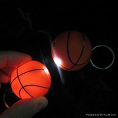 supply plastic Basketball keyring