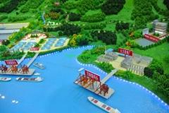 遊艇碼頭沙盤模型