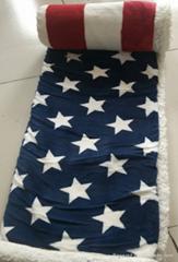sherpa fleece coral fleece blanket